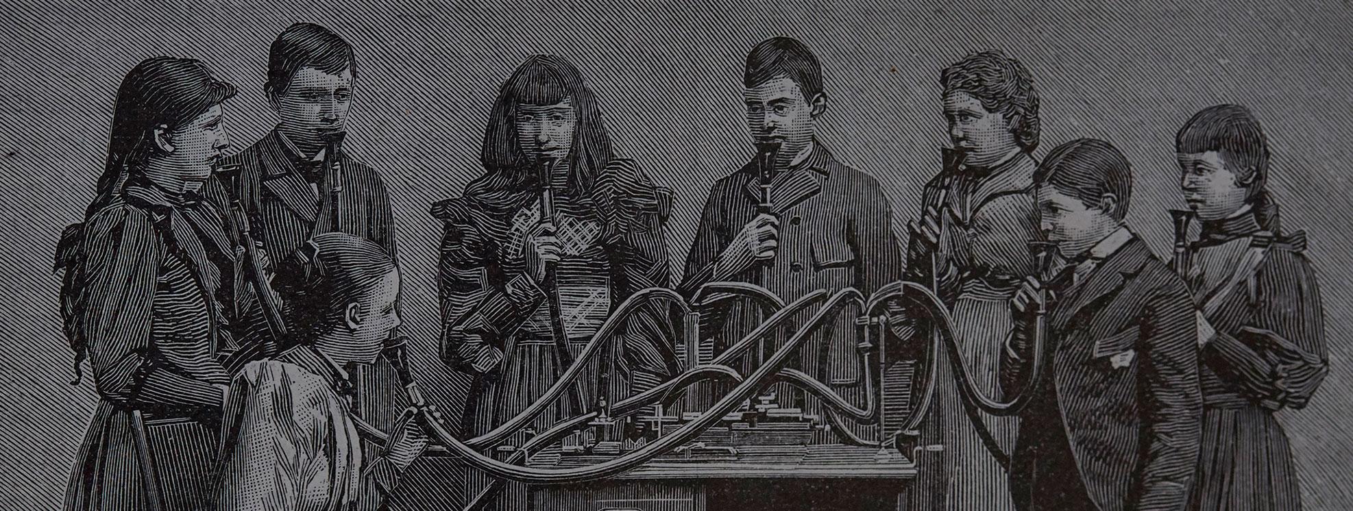 Aux micros fins, le phonographe d'Edison © Auteurs & Cies